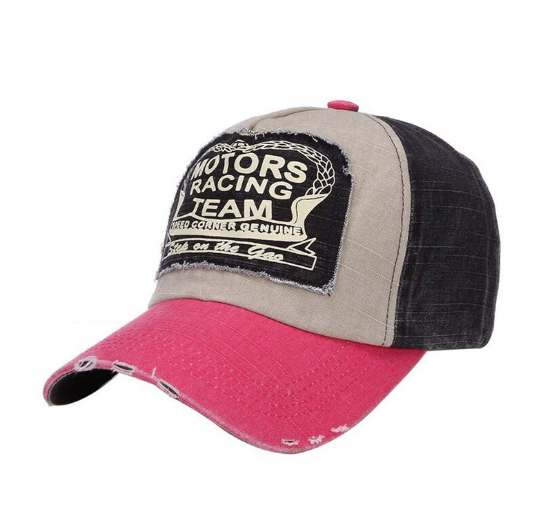 Motors Racing Original Hat Pink/Blue