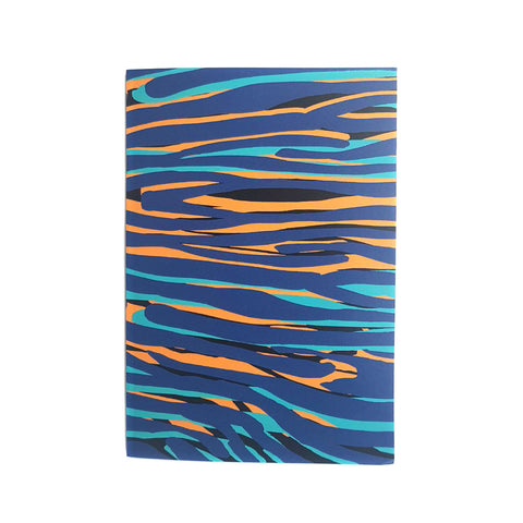 A5 Lined Notebook With Cami Pattern - OlaOla