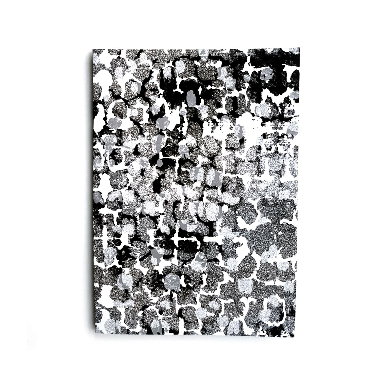 A5 Lined Notebook With Torto B&W Pattern - OlaOla