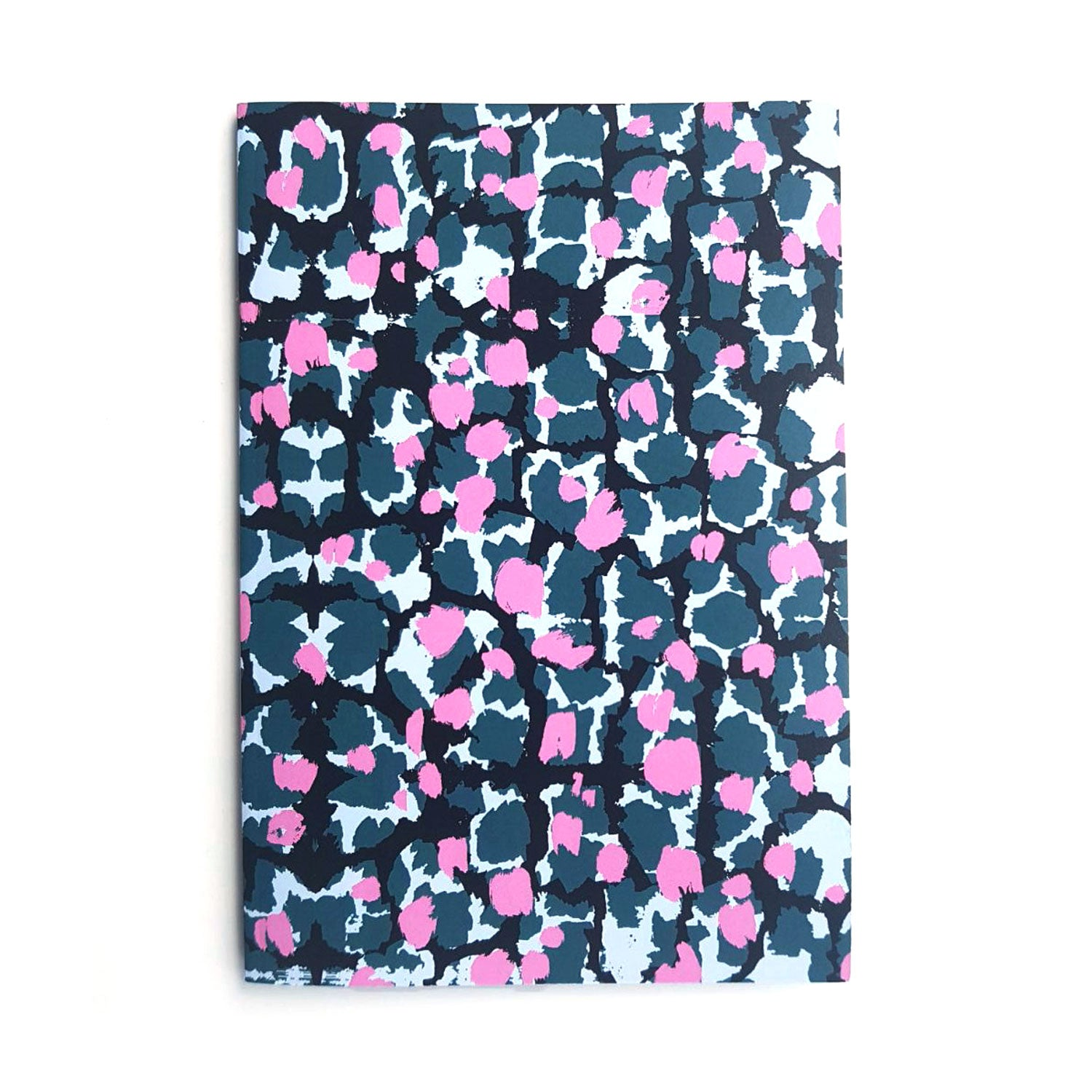 A5 Lined Notebook With Torto Pattern - OlaOla