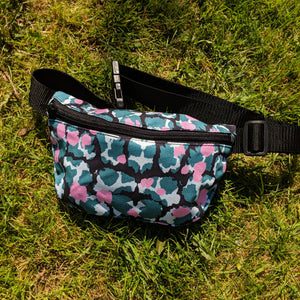 Bumbag With Torto Pattern - OlaOla