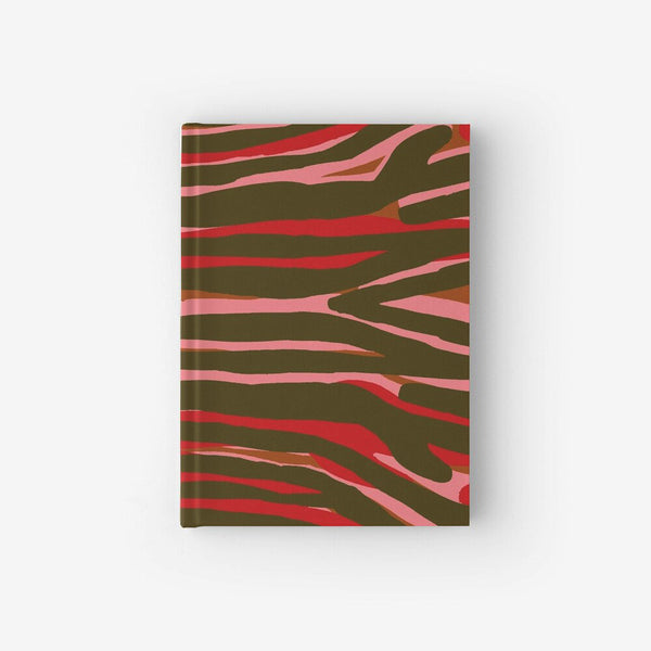 Hardcover Notebook With Cami Pink Pattern