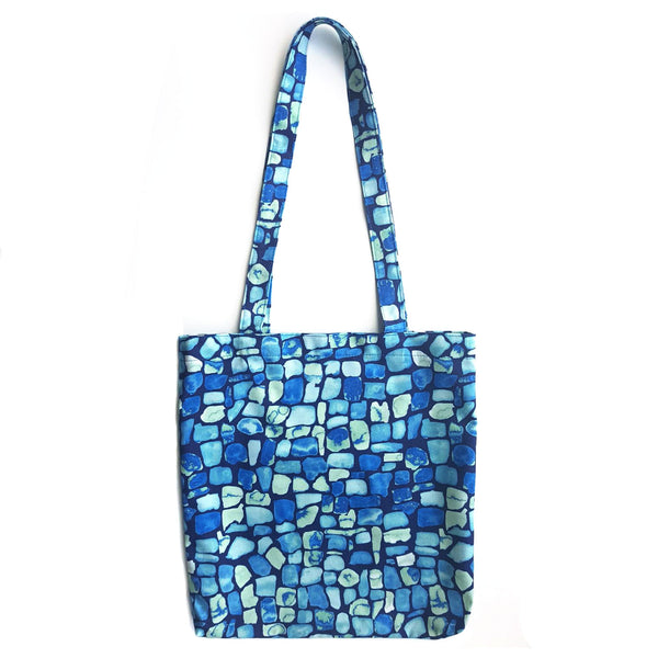 Tote Bag With Geo Pattern - OlaOla