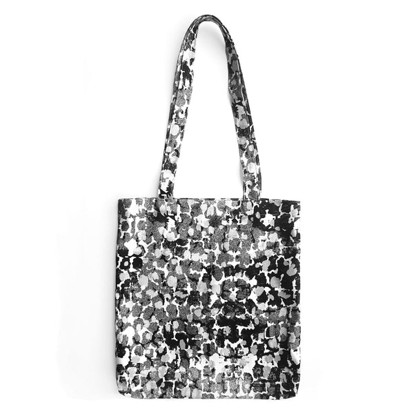 Tote Bag With Torto B&W Pattern - OlaOla