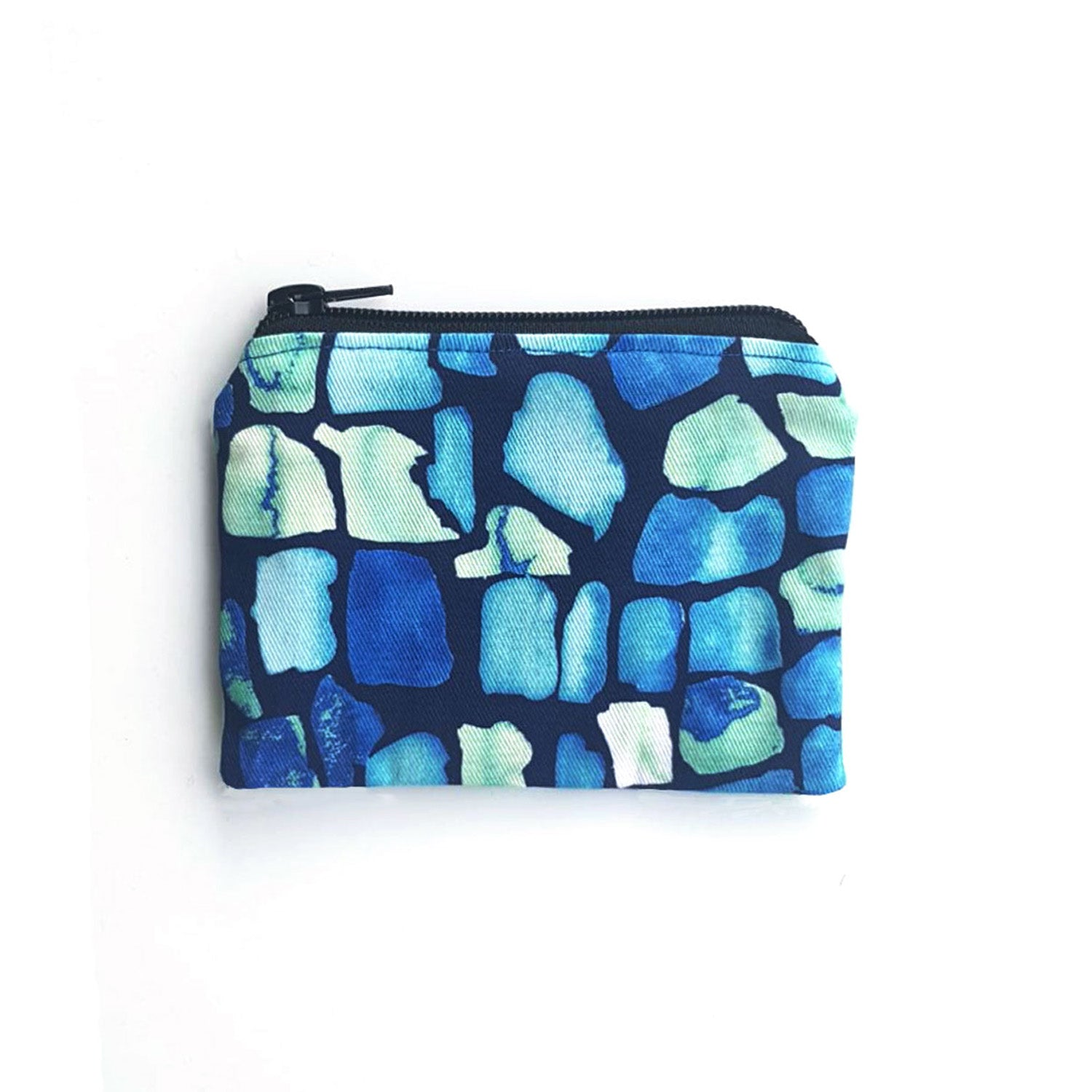 Coin Purse With Geo Pattern - OlaOla