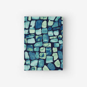 Hardcover Notebook With Geo Pattern