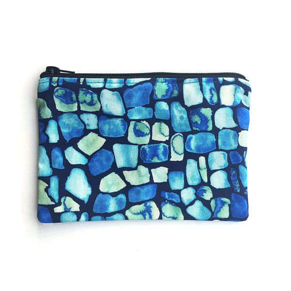 Pouch (Large) With Geo Pattern - OlaOla