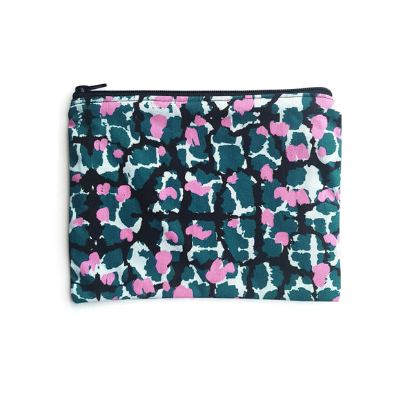 Pouch (Large) With Torto Pattern - OlaOla