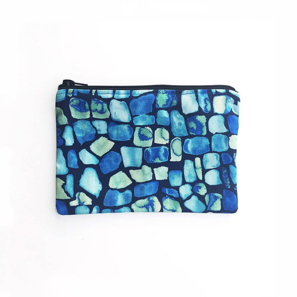 Pouch (Medium) With Geo Pattern - OlaOla