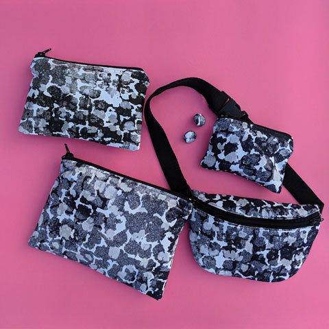 Bumbag With Torto B&W Pattern - OlaOla