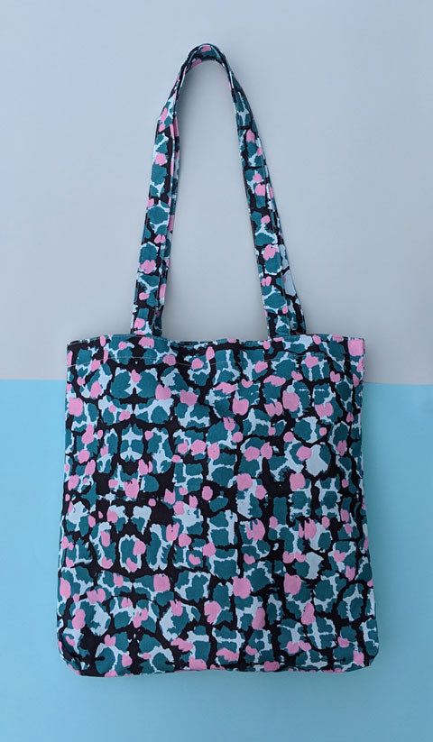 Tote Bag With Torto Pattern - OlaOla