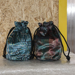 Printed Velvet Bucket Bag - OlaOla