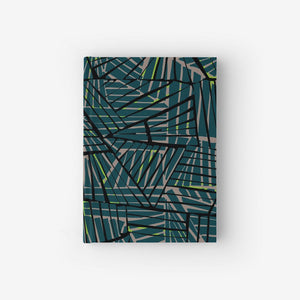 Hardcover Notebook With Peak Pattern