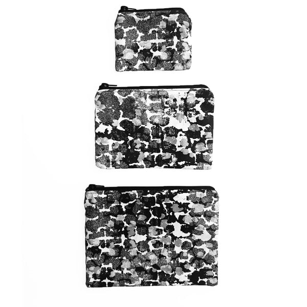 Coin Purse With Torto B&W Pattern - OlaOla