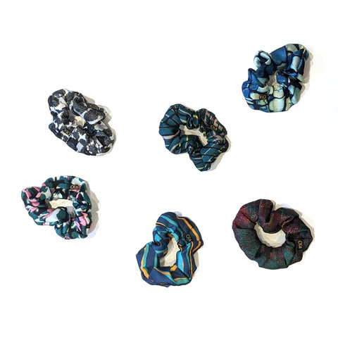 Scrunchies in Silky Satin (Medium)