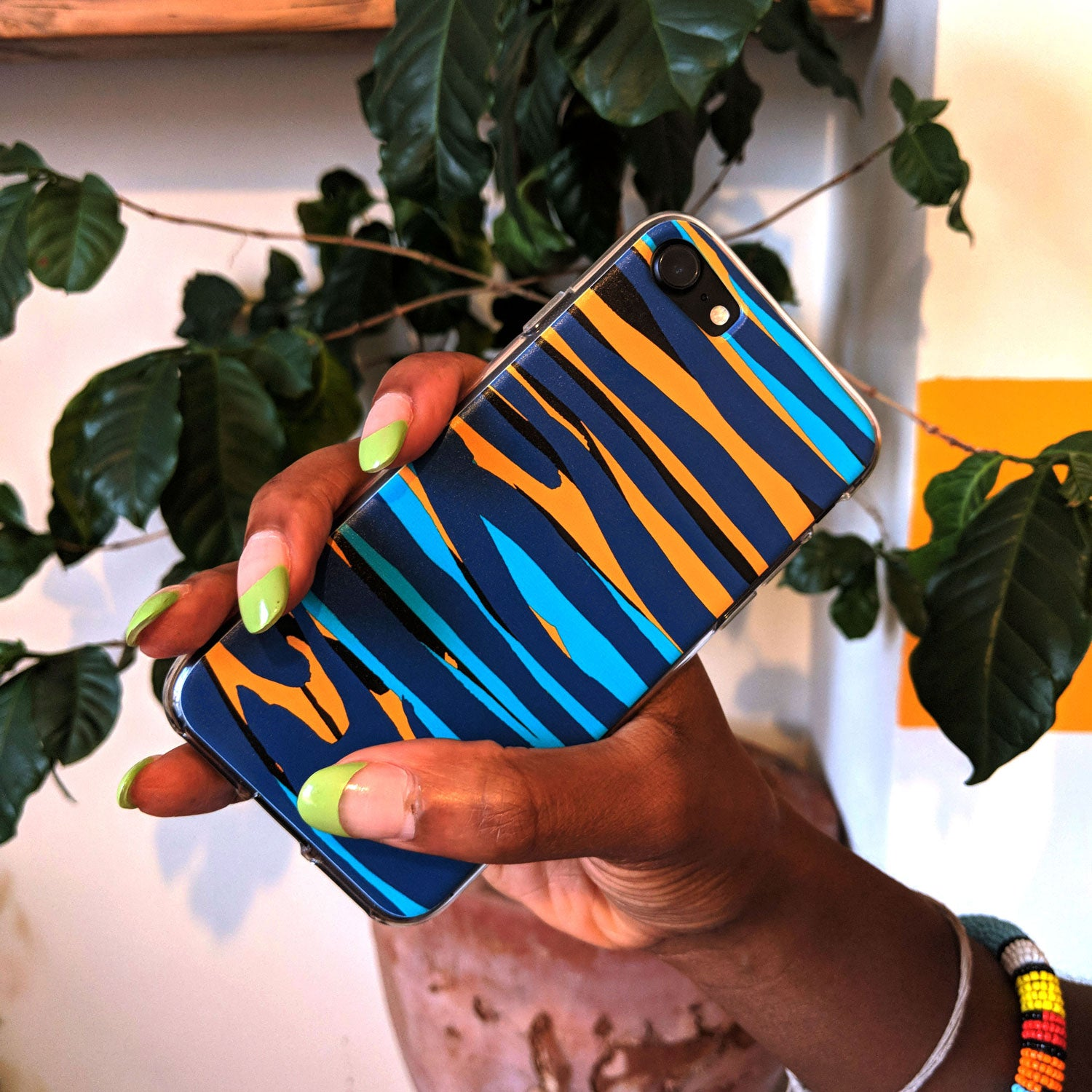 Phone Case With Cami Pattern For iPhone, Samsung & Google - OlaOla