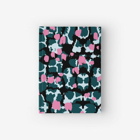 Hardcover Notebook With Torto Pattern