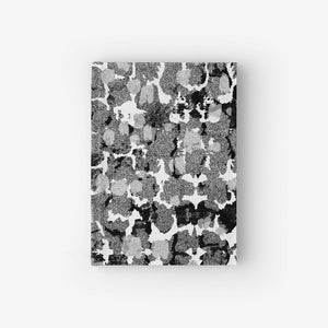 Hardcover Notebook With Torto Monochrome Pattern
