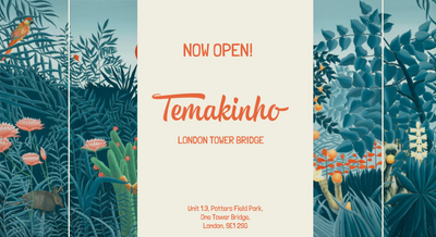 It's official: Temakinho London Tower Bridge is now open!
