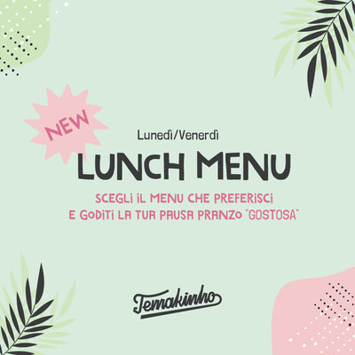 Lunch menù now available!