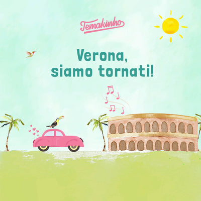 We are back in Verona! Delivery and take away now available!