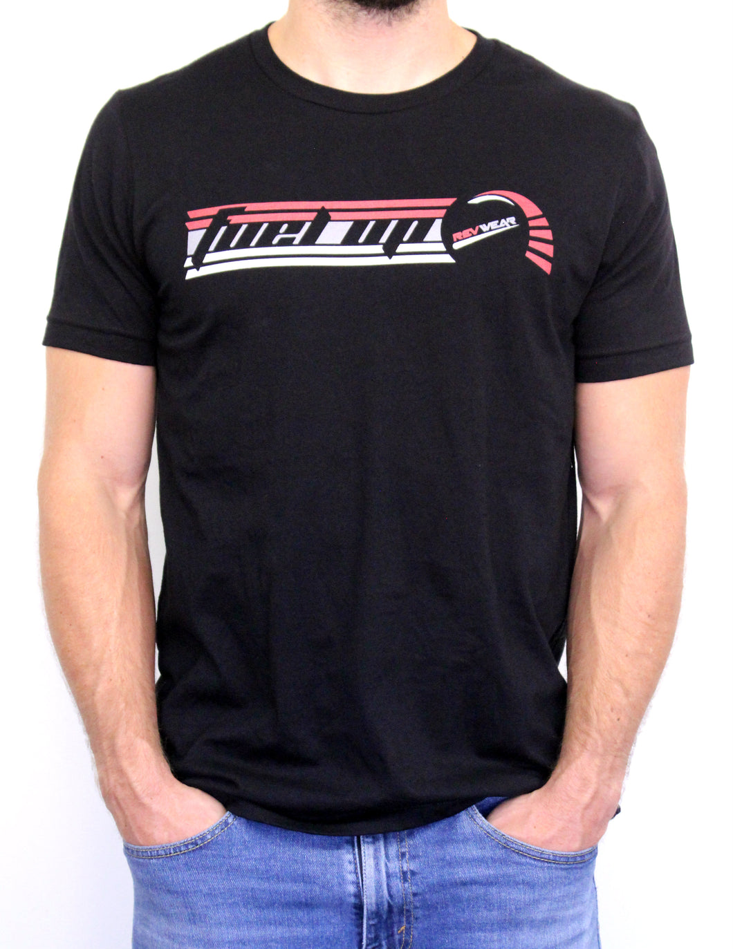 Fuel Up Tee Black