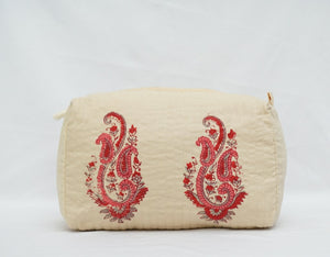 Pouch Hand Block Printed Cotton 04