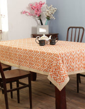 Load image into Gallery viewer, Ikat Hand Block Printed Table Cover