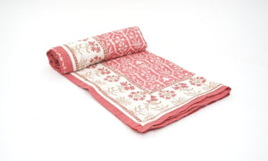 Dohar Double Side Hand Block Printed Cotton