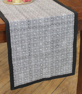 Table Runner  Hand Block Printed Cotton