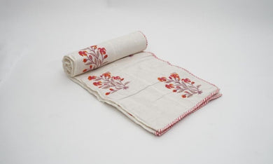 Double Side Hand Block Printed Dohar