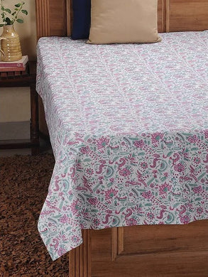 Bed Cover Hand Block Printed Cotton