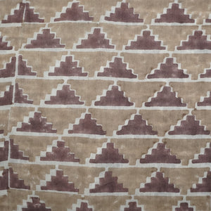 Yardage Hand Block Printed Cotton