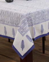 Load image into Gallery viewer, Table Cover Hand Block Printed Cotton