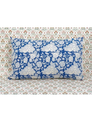 Pillow Cover Hand Block Printed Cotton