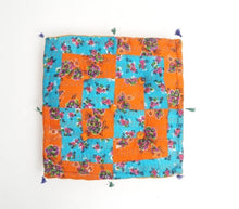 Load image into Gallery viewer, Floor Cushion Hand Block Printed Cotton
