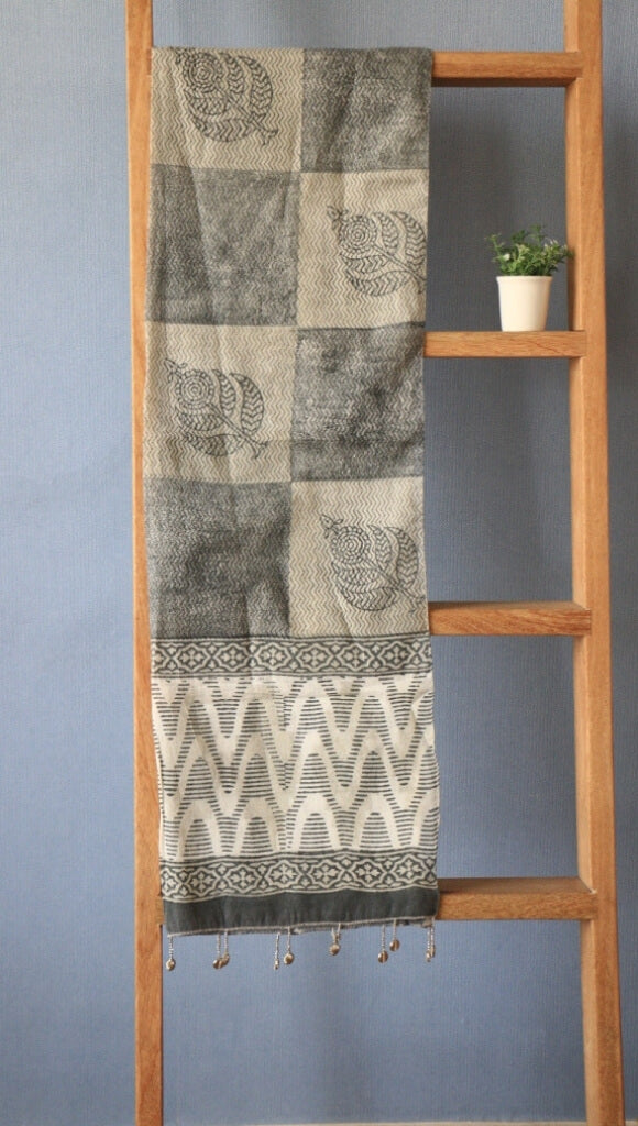 Scarf Hand Block Printed Cotton