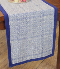 Load image into Gallery viewer, Table Runner Hand Block Printed Cotton