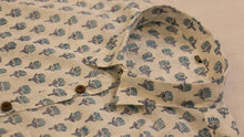 Load image into Gallery viewer, Half Sleeves Shirt Hand Block Printed Cotton