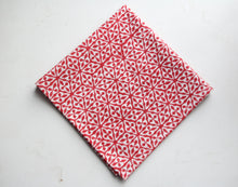 Load image into Gallery viewer, Hand Block Printed Cotton Handkerchief