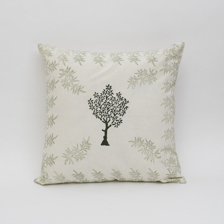 Cushion Cover Hand Block Printed Cotton