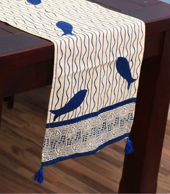 Table Runner  Hand Block Printed Cotton MYTR1041