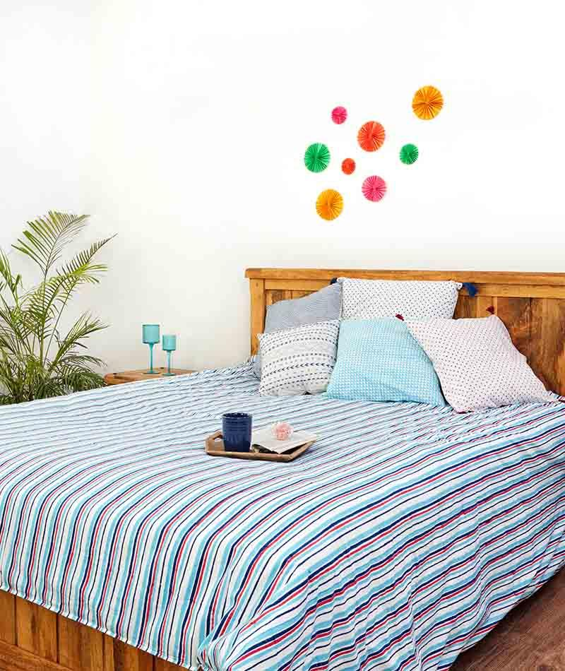 Duvet Cover Hand Block Printed Cotton