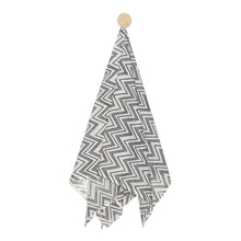 Load image into Gallery viewer, Swaddle Hand Block Printed chevron Design