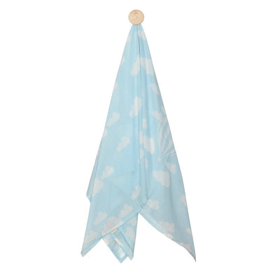 SWADDLE  CLOUD  BLUE WHITE