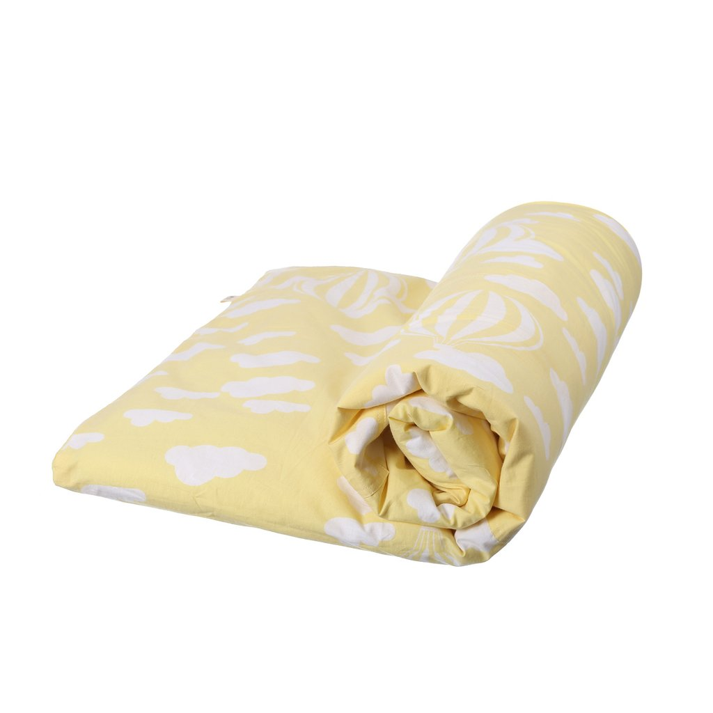 BLANKET CLOUD YELLOW WHITE