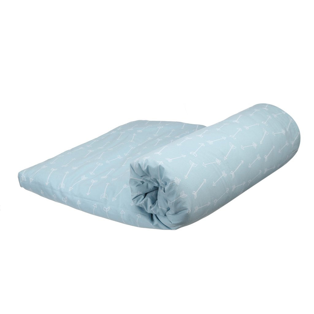 BLANKET ARROW  BLUE WHITE