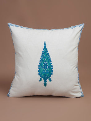 Hand-Block Printed Cushion Cover