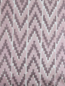 Ikat Cushion Cover Hand Block Printed Cotton
