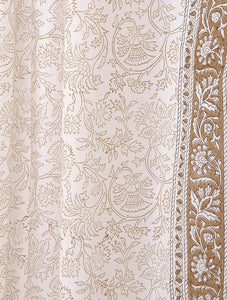 Curtain Hand Block Printed Cotton